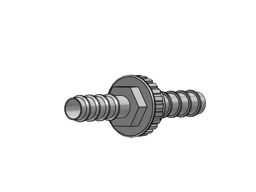 Rückschlagventil PE 25mm