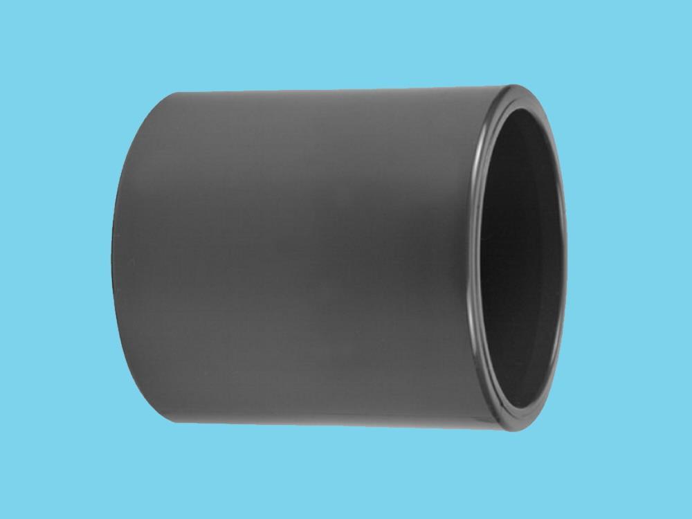 PVC Muffe 63 x 63mm 16bar Klebeverbindung