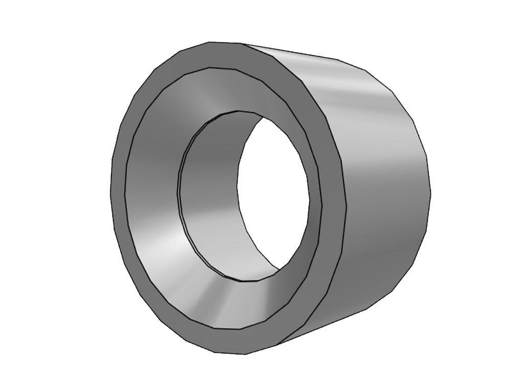 PVC Gradientenringe 50 x 32mm 16bar