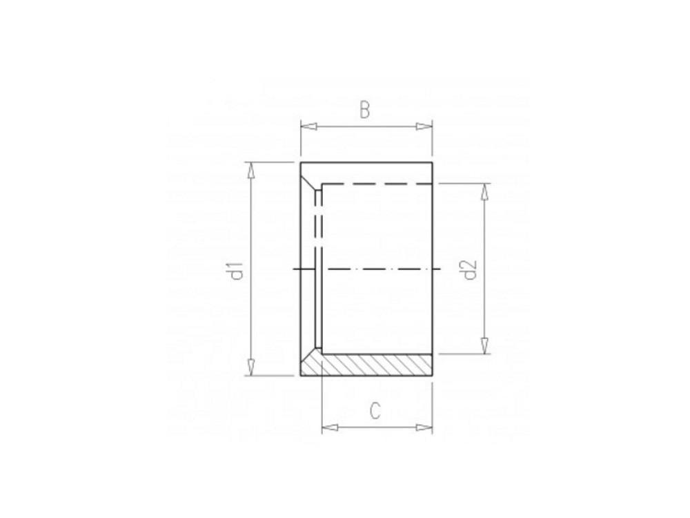 PVC Gradientenringe 75 x 63mm 16bar