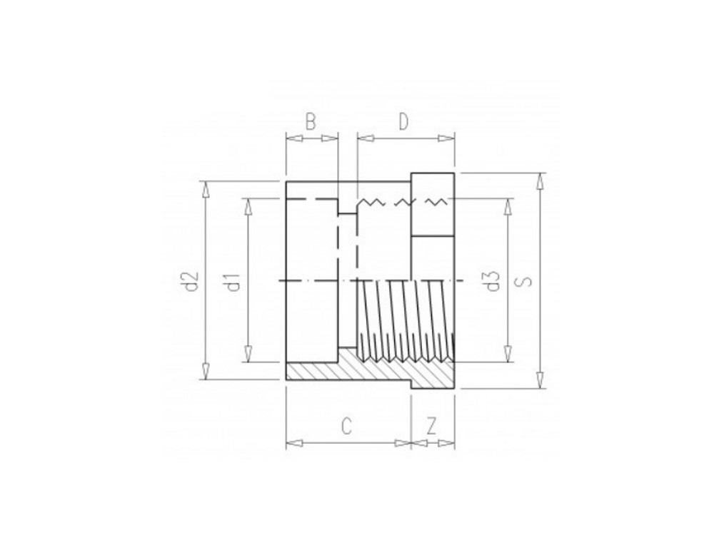 pvc gradientenringe 40mm x 1