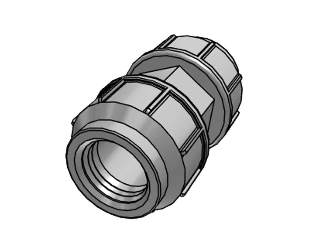 PE Kupplung 40 x 40mm 10bar