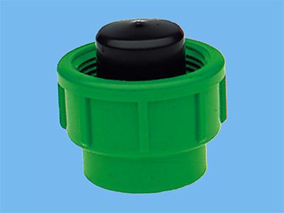 PE Fittingstop für PE Kupplung 16mm