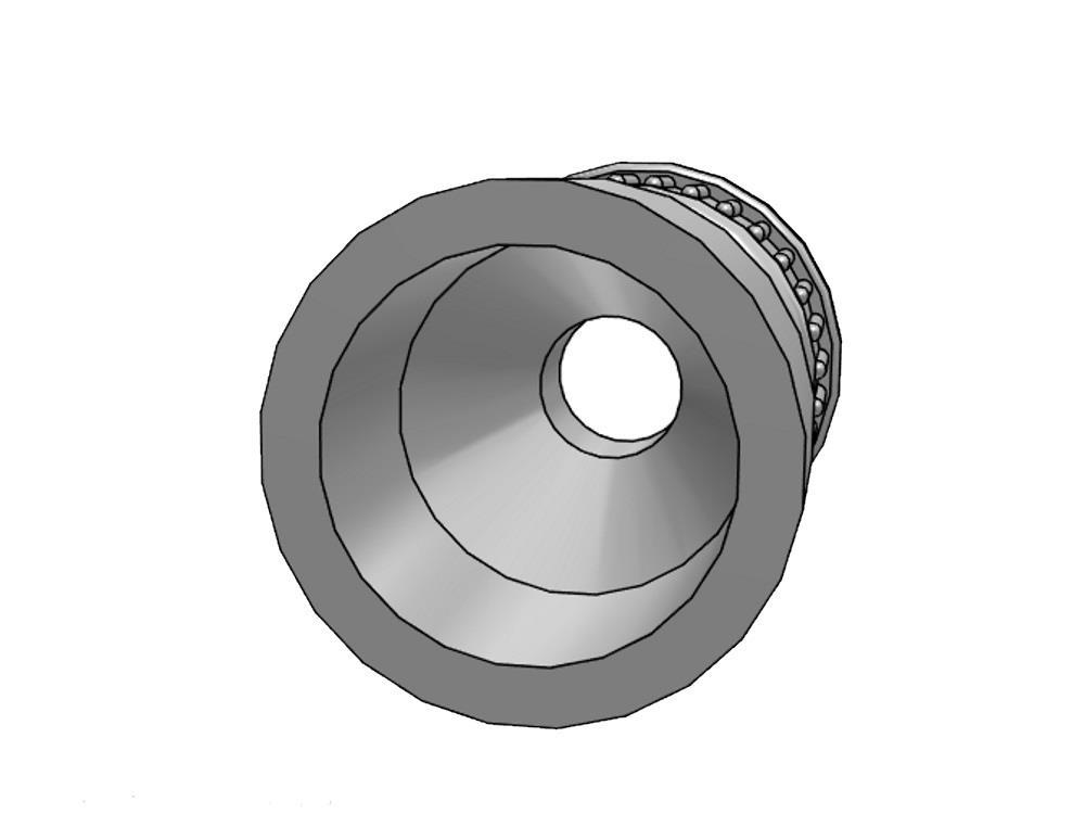 2/3 PVC Kupplung 32mm x 1