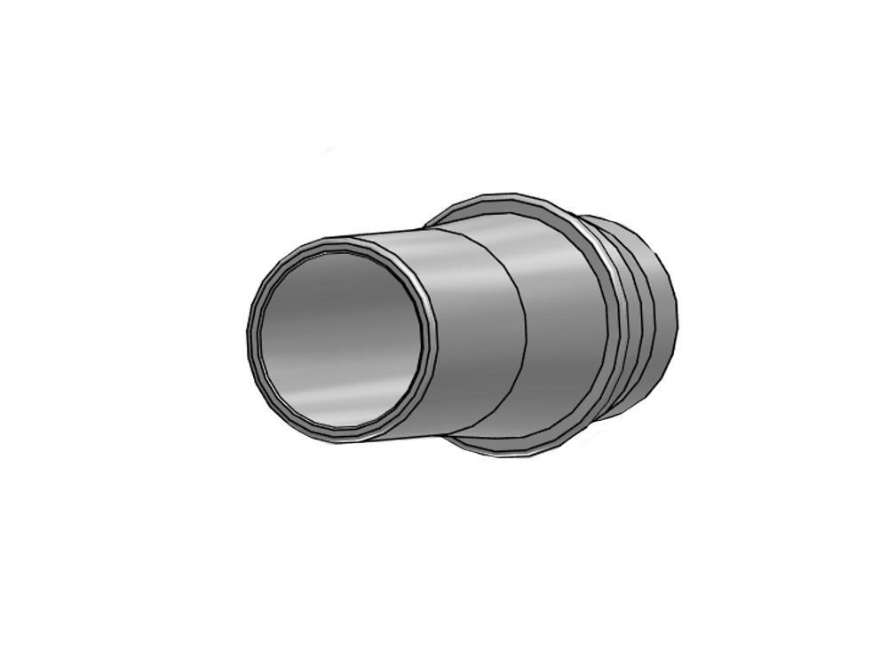 PVC Gießröhrchen + Ring 63mm