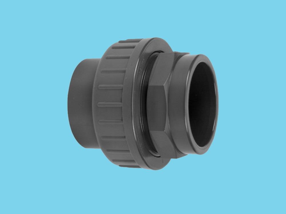 3/3 PVC Kupplung 50 x 50mm 16bar
