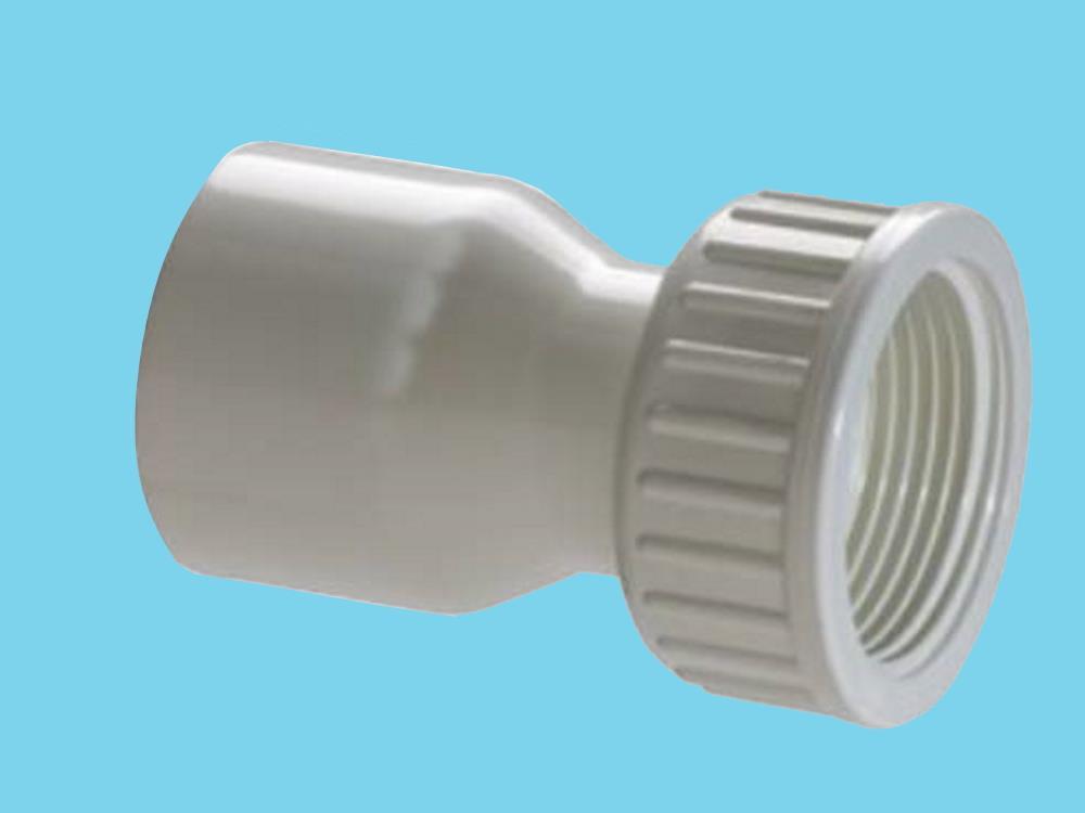 PVC Sprinklerkupplung 2/3 - 32mm x 1-1/4