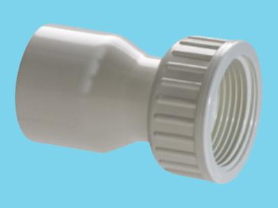 PVC Kupplung 2/3 - 40mm x 1-1/4