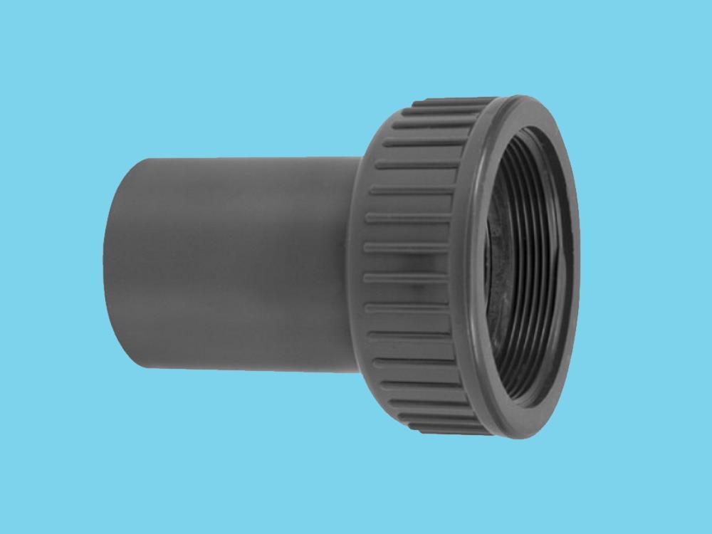 PVC Kupplung 2/3 - 75mm x 3