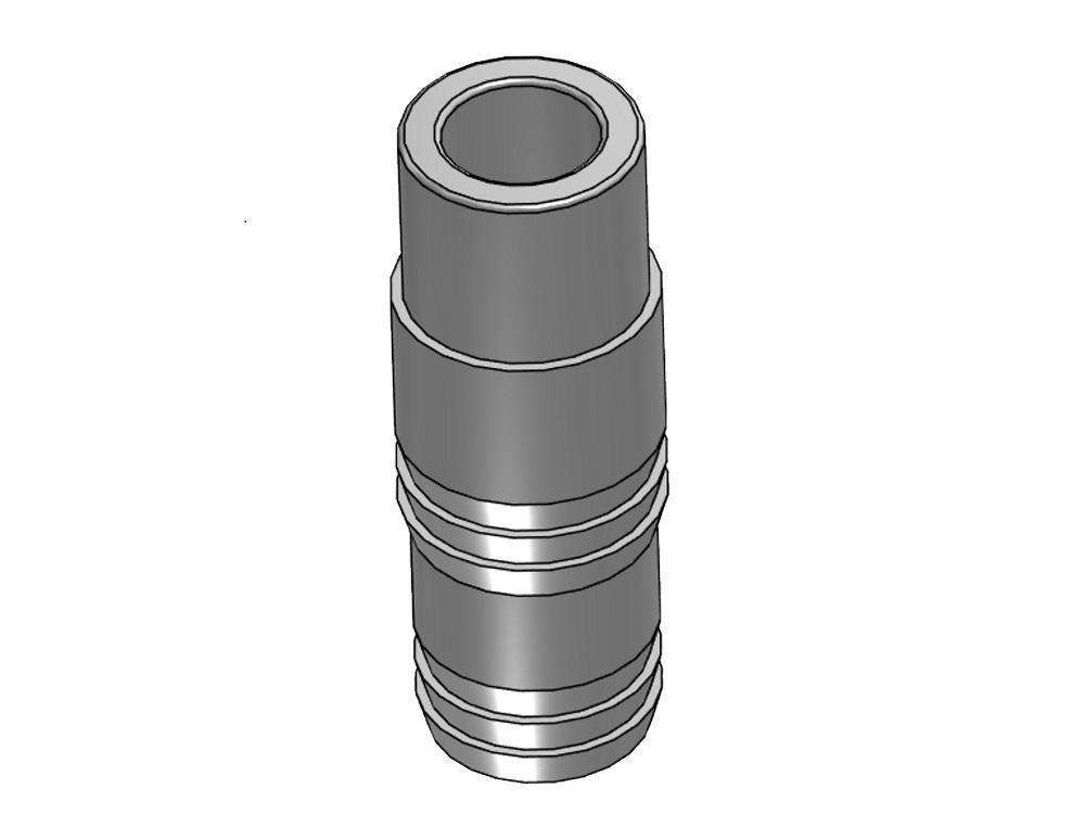 PVC Schlauchtülle 50 x 53/50mm