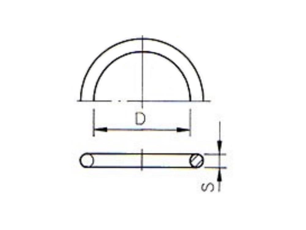 O-Ring 32 x 3,5mm für PE Kupplung 32mm