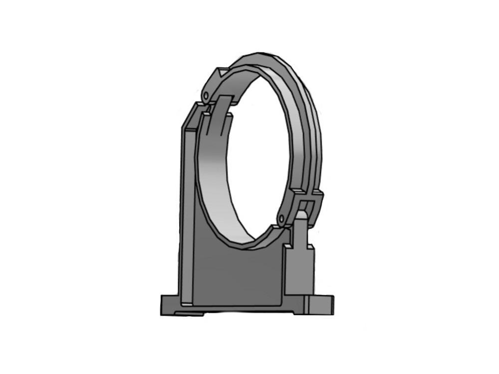 Rohrhalterung      315mm pvc