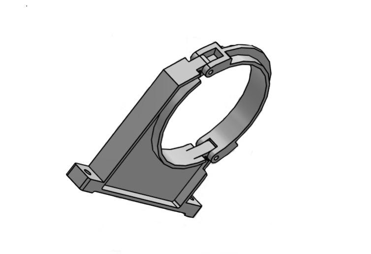 400mm PVC-Rohrschelle