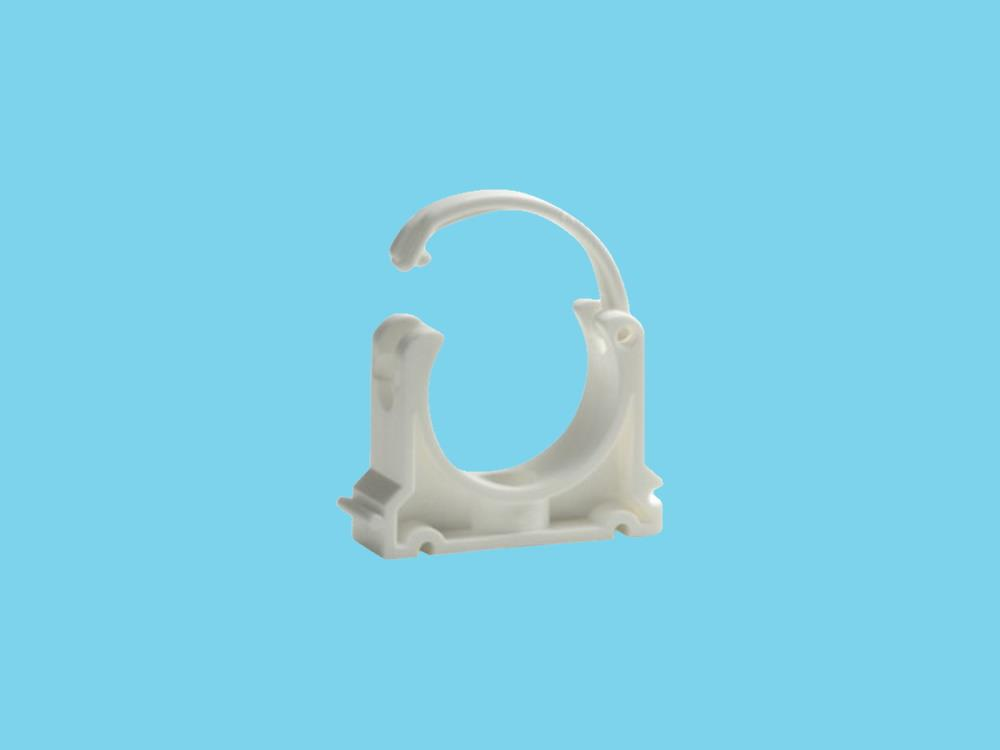 Rohrschellen weiß  40mm pvc
