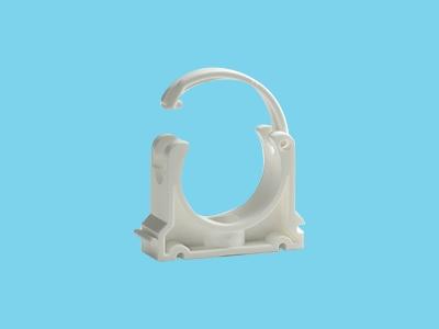 Rohrschellen weiß  90mm pvc