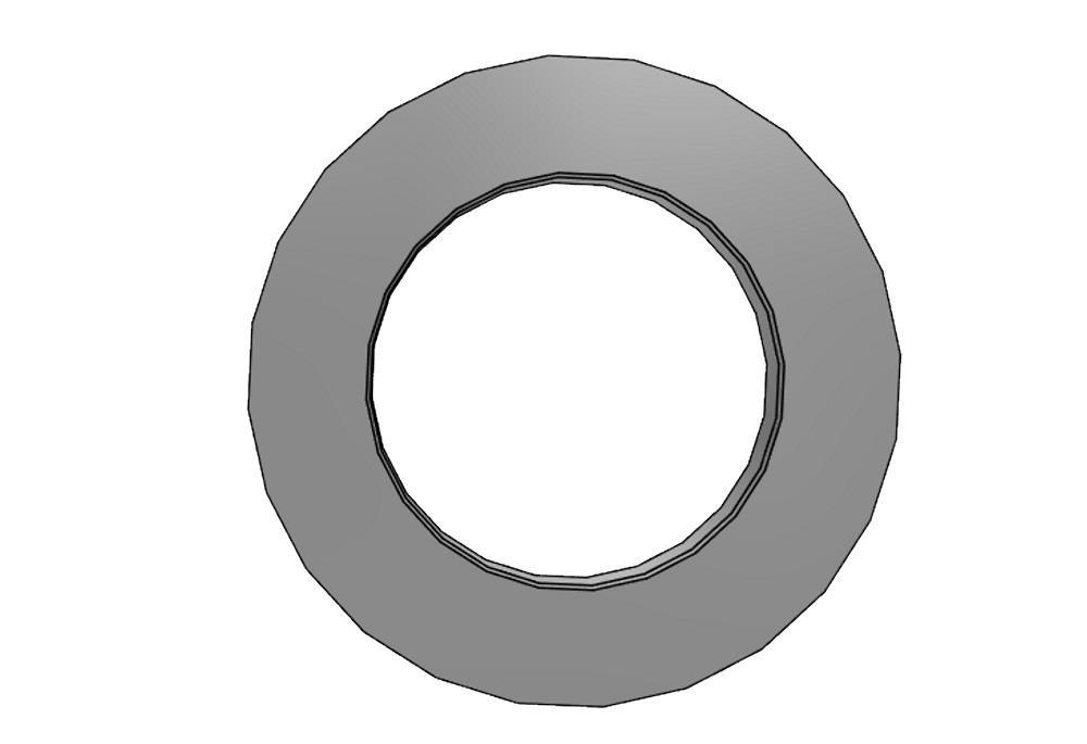 Kragenbuchse 63 pvc rand= 90x 9mm