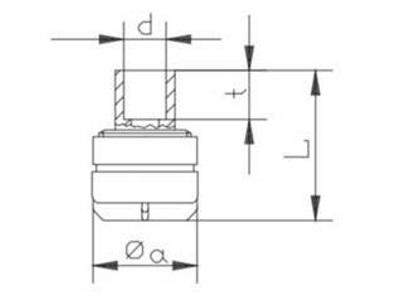Jesco ventil FC, PVC, DN4