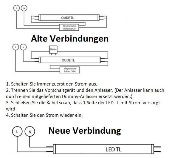 Led tube 1200mm 17 watt 4000 kelvin