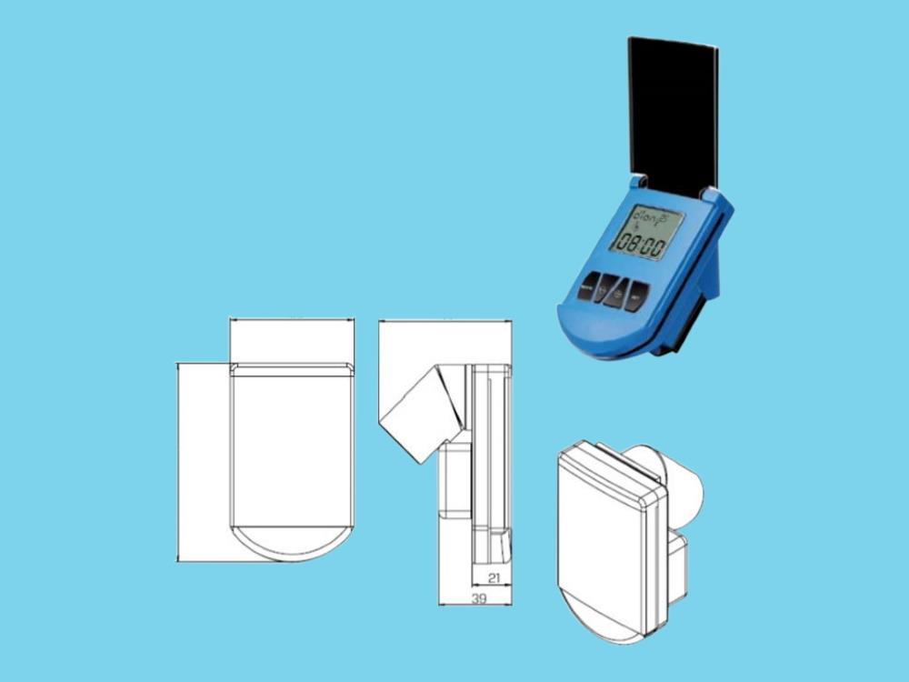 Autom. Volumenventil-Satz - 7 m3/Std. - 1 Puls/L - 1