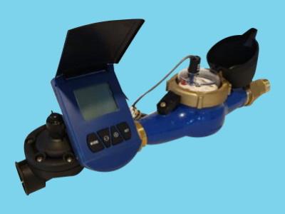 Autom. Volumenventil-Satz - 20 m3/Std. - 1 Puls/10L - 1,5