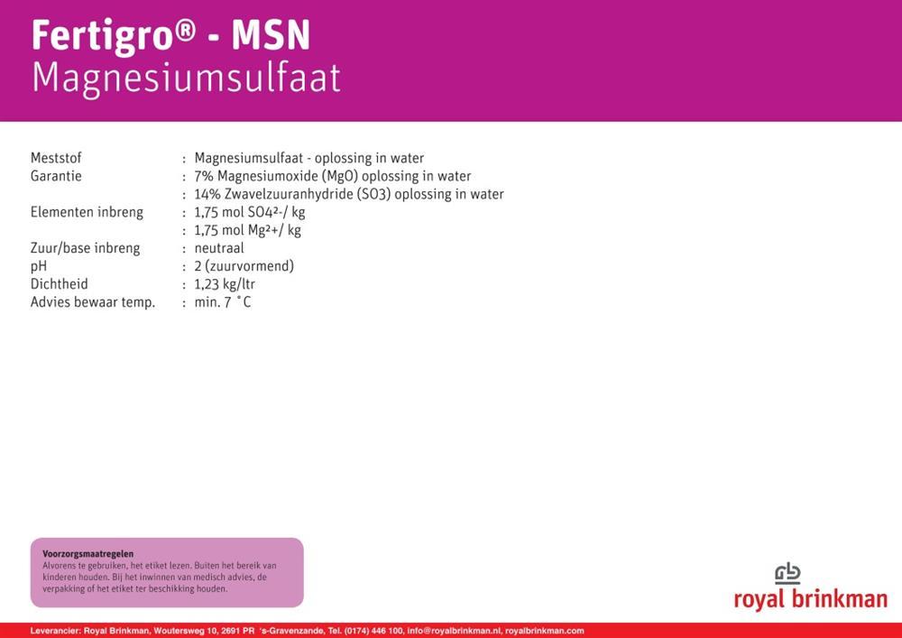 Fertigro MSN Fass (980) 199 l/245kg