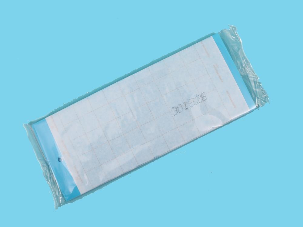 Signaltafel blau [10x25cm] 10 Stk.