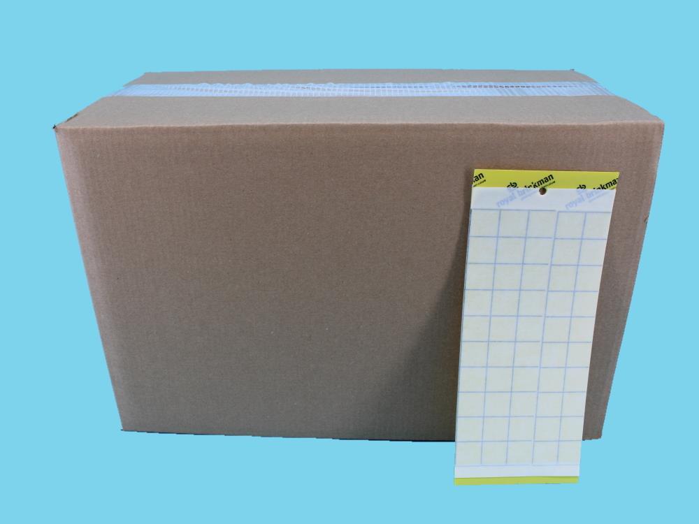 Signaltafel gelb kasten (10x25)