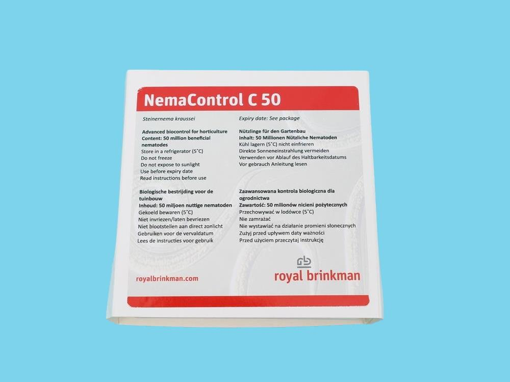 NEMAcontrol carpocapsae [50 Million] (RB)