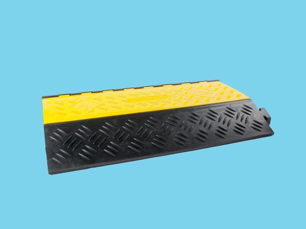 Kabelbrug 2 kanaals groot 901x610x102mm zwart/geel