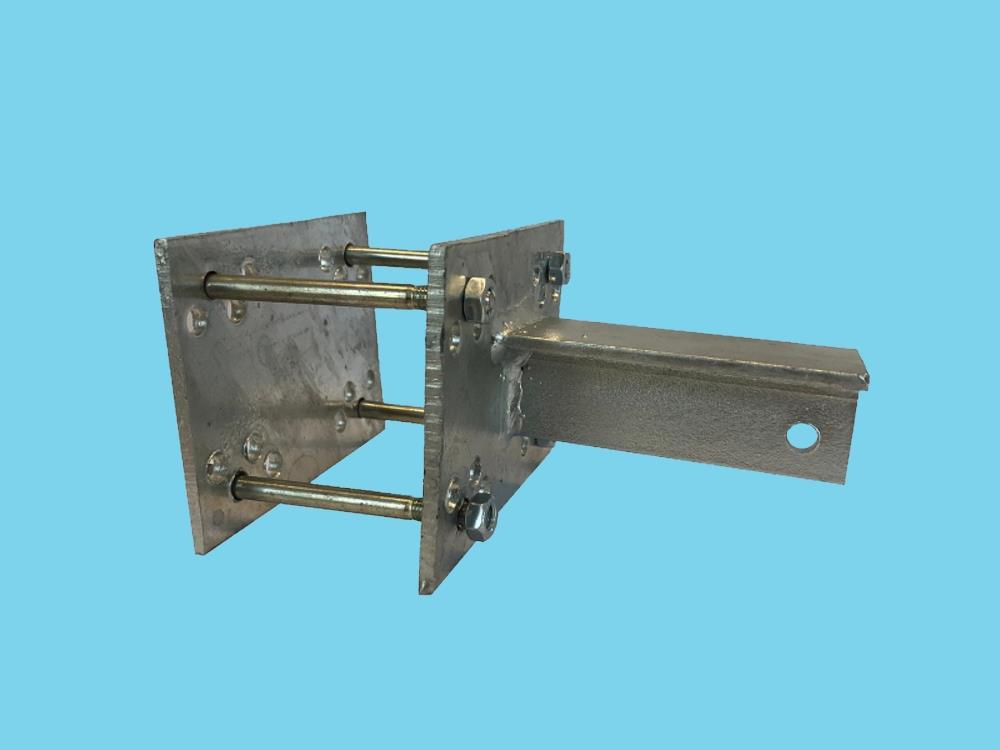 T-Konsole für Stutz 80 mm - Komplettset
