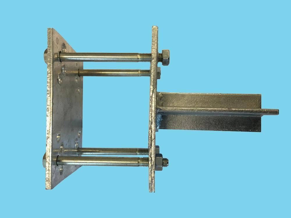 T-Konsole für Stutz 100 mm - Komplettset