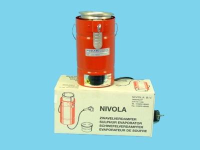 Schwefelverdampfer Nivola 220v, 1,75m