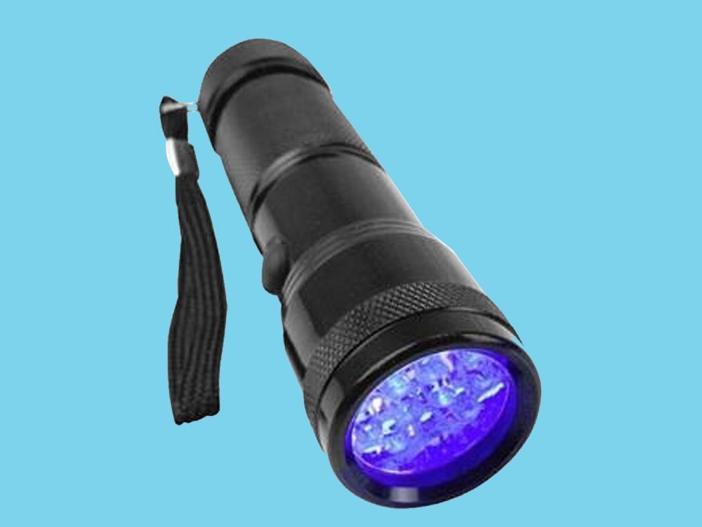 Berger & Schröter UV 395-400 nm UV-LED-Taschenlampe mit Hand