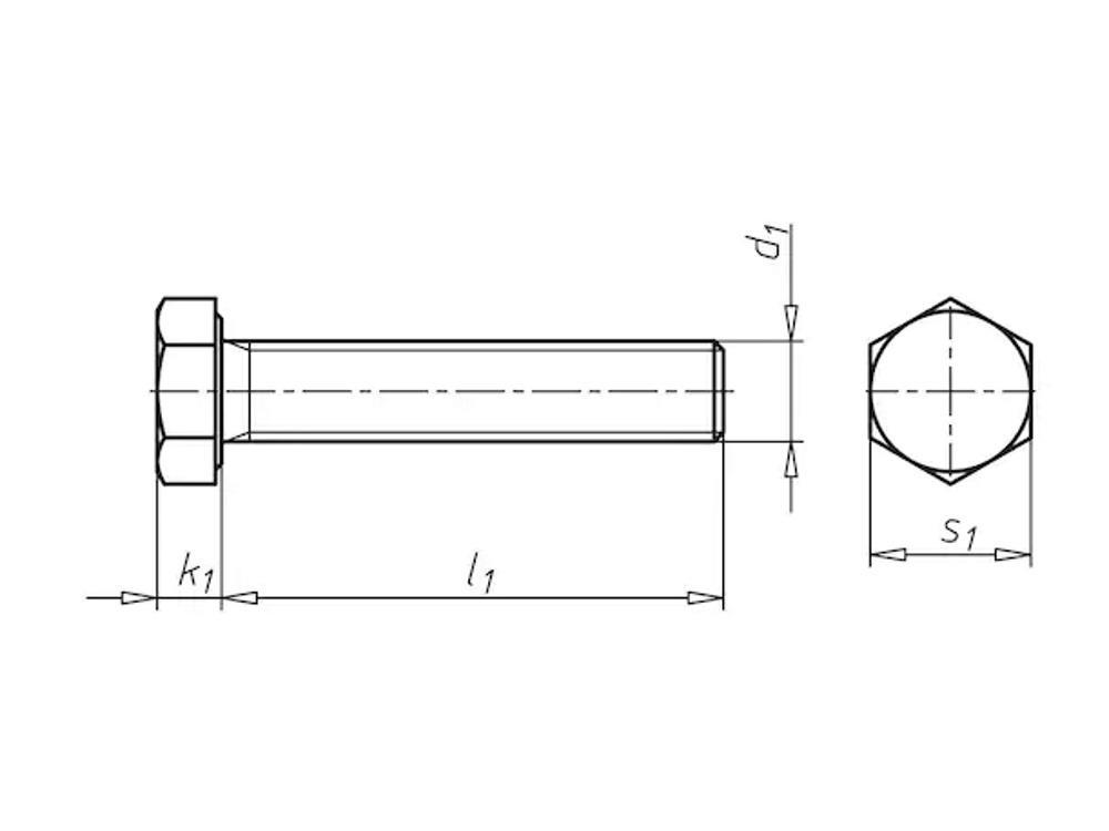 Stiftschrauben 8,8 M10x16 DIN933