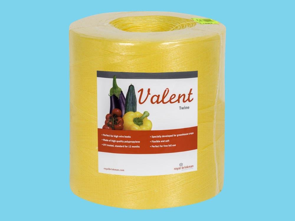 Schnur Valent Twine 1/1500 gelb 6 kg