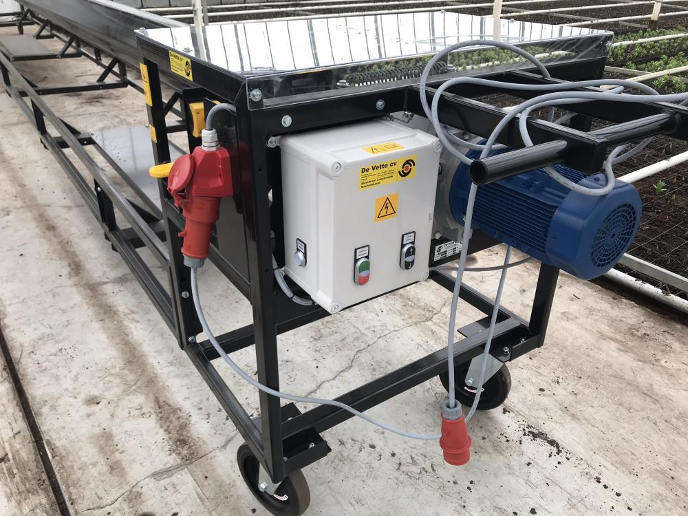 Dampfsegelroller 400V 10m