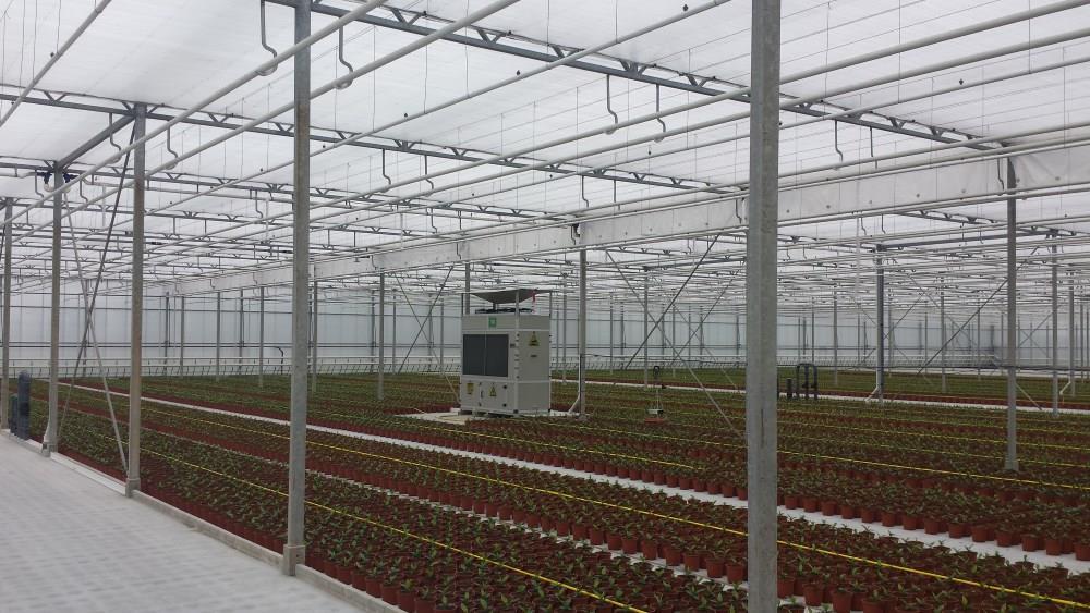 DryGair DG12 Luftentfeuchter - Standardgerät ohne Dach