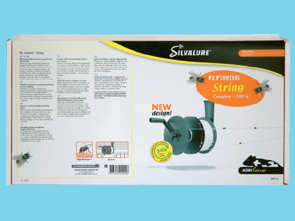 Silvalure 500M komplettes silvalure Fliegenband-Set
