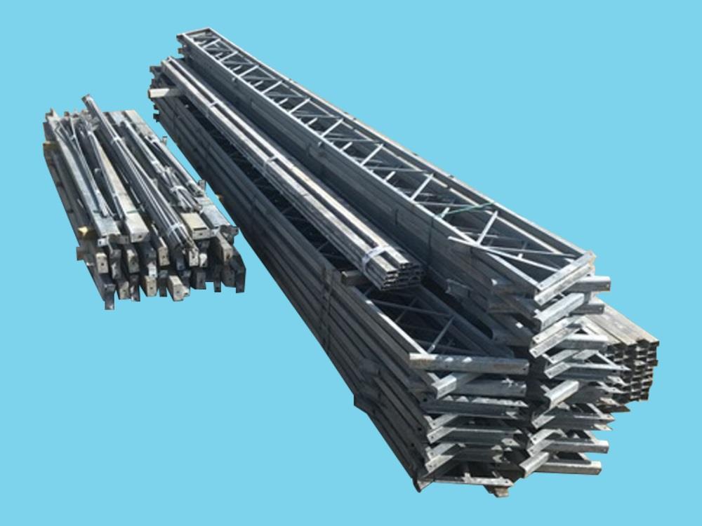 Konstruktion der Betriebshalle stahl 12,8m x 48m HO Berg