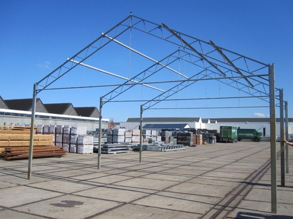 Konstruktion der Betriebshalle stahl 8,0m x 16m HO Berg