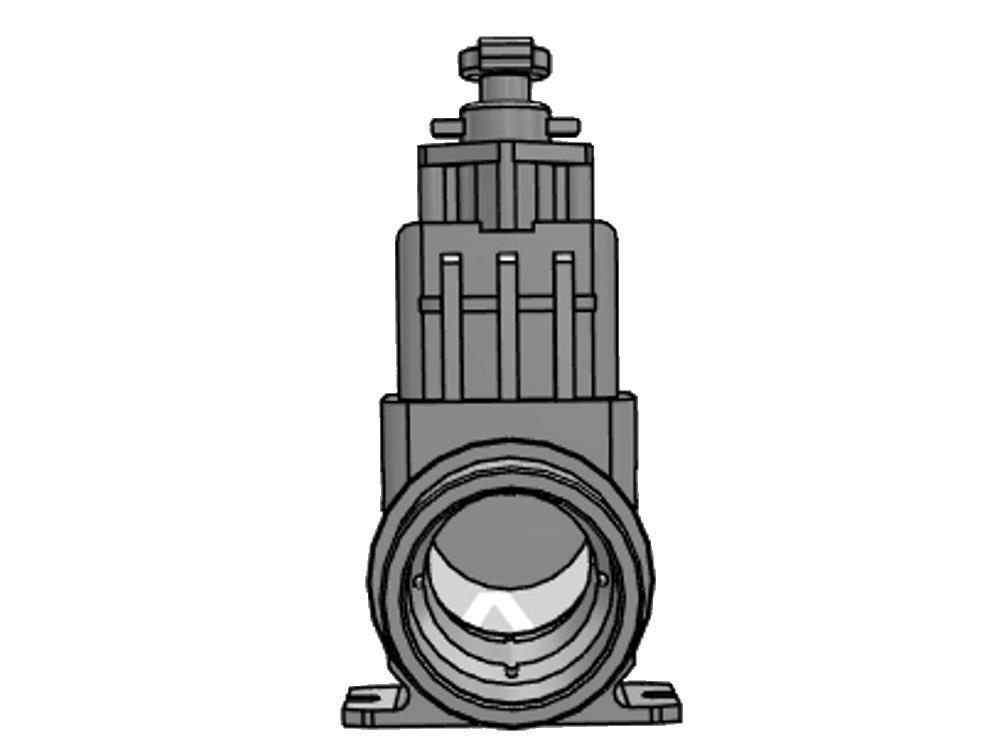 Absperrsch. dil 110 (edelstahl) verl. 1.500 mm