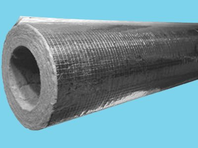 Rockwool 810 Rohrschale 50 mm dick Für Röhre 121 mm ; Verpac