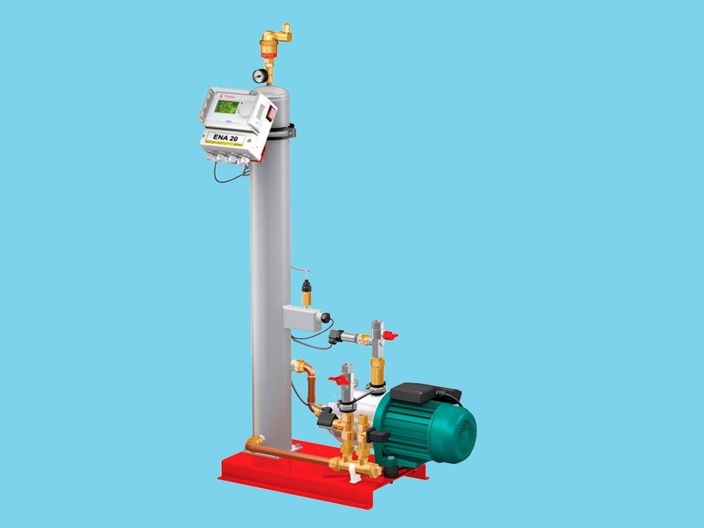 Flamco ENA Vakuum entgasungsmaschine Druck: 0,8 - 3,5 bar