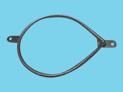 Ring mit doppelter Lippe Rohr 219 mm Birne, 10 stück