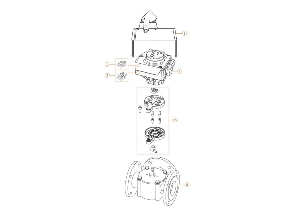 Siemens SALxx.xxT10 N4502 Elektromotorische servomotor für V