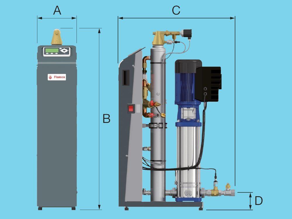 Flamco Vacumat Eco Entgasungsautomat 300