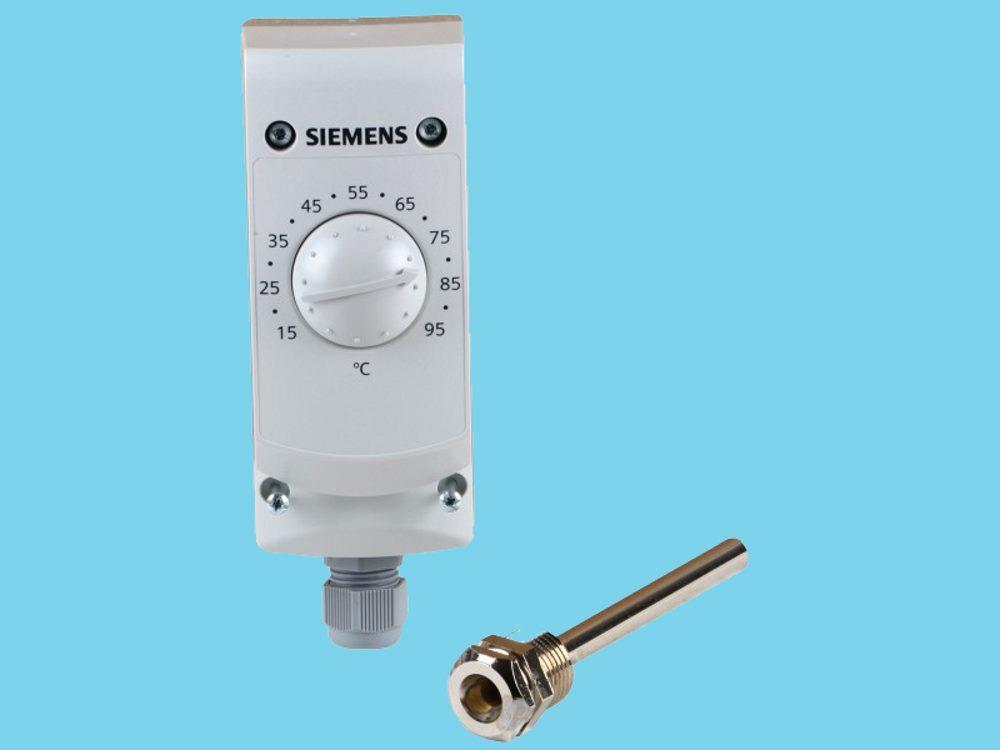 Siemens Temperaturregler RAK TR 1000B; +15...+95 gr. C