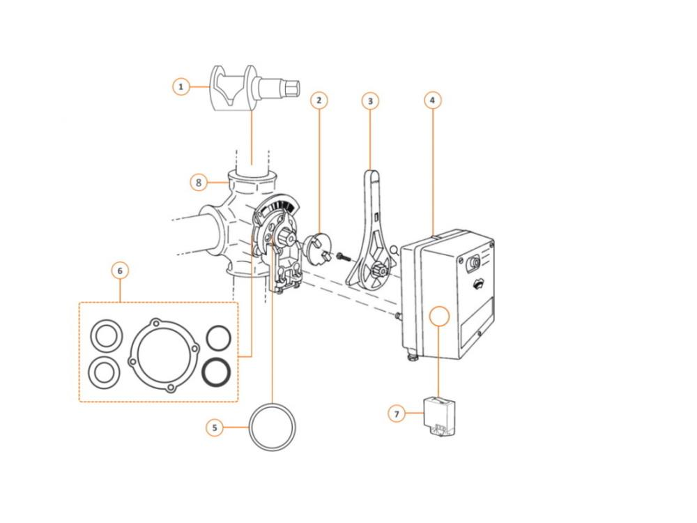Centra servomotor VMM 24 Volt Drehmoment: 20nm