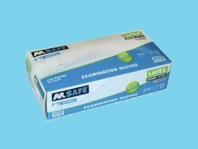 Handsch.M-safe 4160 latex  XL Kat.1