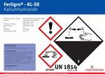 Aufkleber Fertigro KL-50 Bulkfass